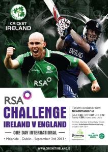 RSA Challenge Ireland v England